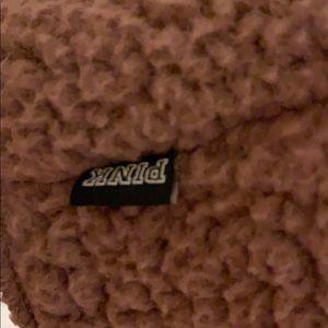 PINK Victoria's Secret Sweaters - Pink VS Sherpa reversible jacket XS/S